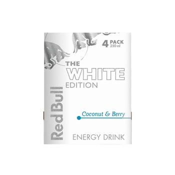 Red Bull Energy Drink, Coconut & Berry, 4 x 250ml