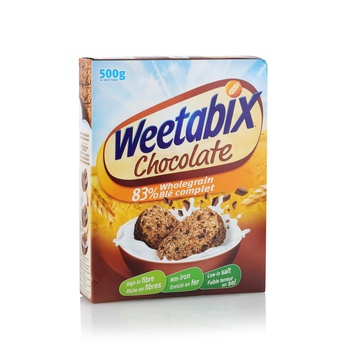 Weetabix Cereal Chocolate Biscuit 10X500g