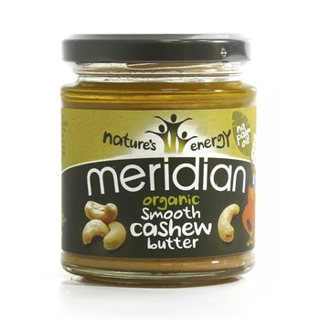 Meridian Organic Smooth Cashew Butter 170g