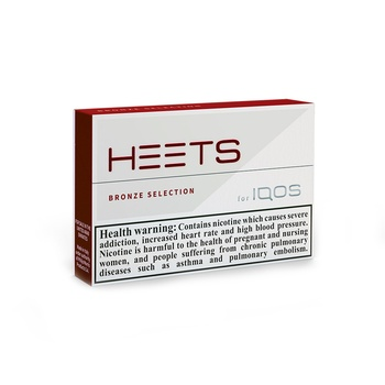 HEETS Bronze Selection Tobacco Sticks 20's