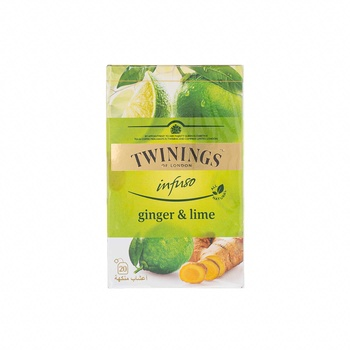 Twinings Infuso Ginger & Lime 20's