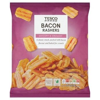 Tesco Bacon Rashers Snacks  150G