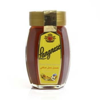 Langnese Pure Bee Honey Golden Clear 125g