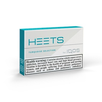HEETS Turquoise Selection Tobacco Sticks 20's
