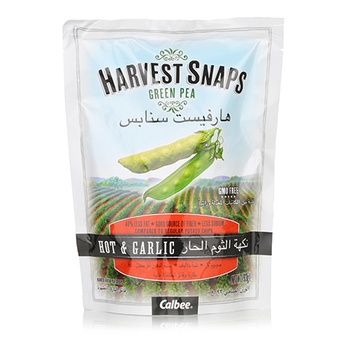 Harvest Snaps Hot & Garlic 93g