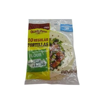 Old El Paso Flour Tortillas 400g