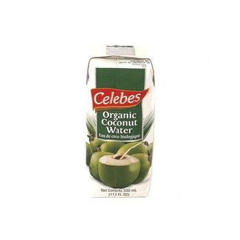 Celebes Organic Coconut Water 330ml