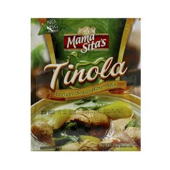 Mama Sitas Tinola Ginger Soup Base Mix 25g