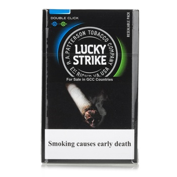 Lucky Strike Cigarettes Double Capsule 20s