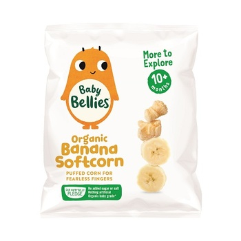 Baby Bellies Organic Banana Softcorn (10+Months) 8g