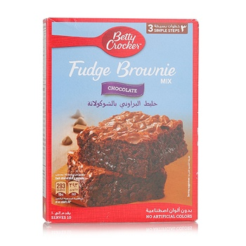 Betty Crocker Brownie Mix Chocolate Fudge  561g