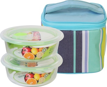 Lunch Bag with 2 Containers