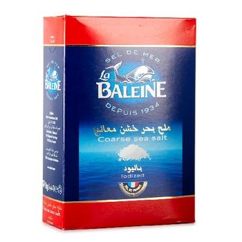La Baleine Sea Salt Iodize Box 1000g