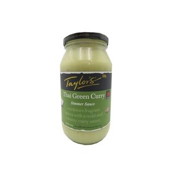 Taylors Simmer Sauce Thai Green Curry 500g