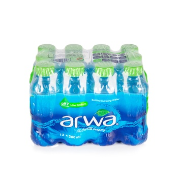 Arwa Bottled Drinking Water 200 ml (Pack of 12)