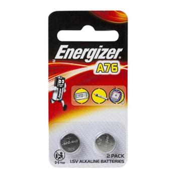 Energizer A76 / LR44 1.5 V Alkaline (Pack 2)
