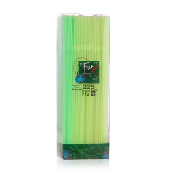 Al Bayader Neon Flexible Straws 225s