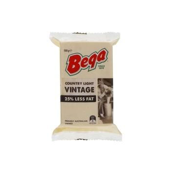 Bega Country Light Vintage 25% 500g