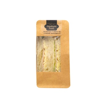 Goodnes Foods  Pre Roasted Turkey & Cheese Wedge 150g