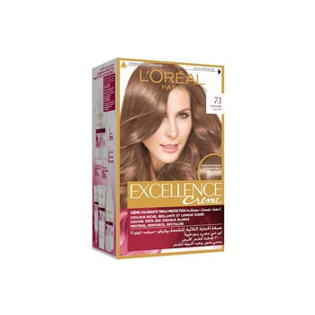 Loreal Excellence Ash Blonde 7.1 Sp25%