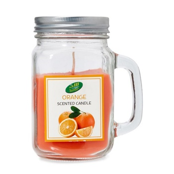 Samar Candle Jar Orange # CHST-0559