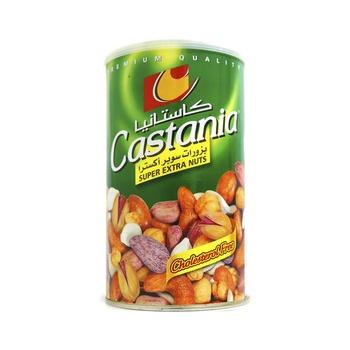 Castania Mixed Nuts Super Extra Can 500g