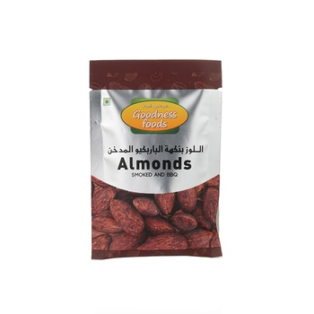 Goodness Foods Almonds Smoked & Barbeque Packet 20g