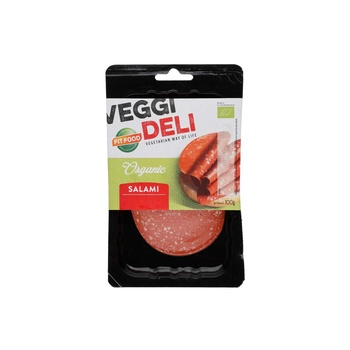 Fitfood Veg Slices Salami Organic 100G