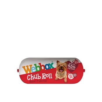 Webbox Dog Treat Chub Rolls Beef 315g