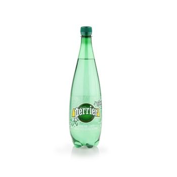 Perrier Natural Sparkling Mineral Water Pet Bottle 1 ltr
