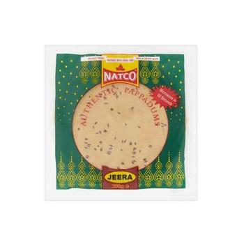Natco Jeera Pappad 200g
