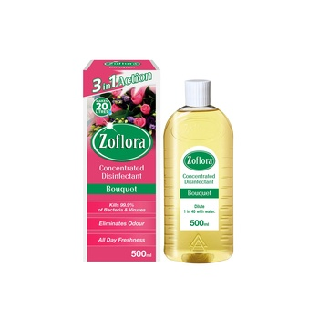 Zoflora Multipurpose Concentrated Disinfectant Bouquet 500ml