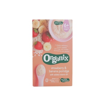 Organix Strawberry & Banana Porridge120g
