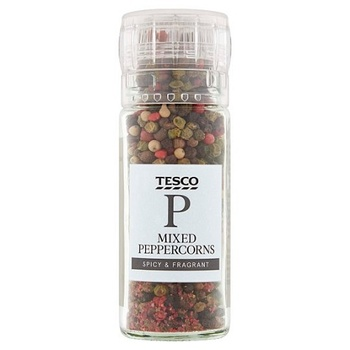 Tesco Rainbow Peppercorn Grinder 40g