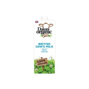 Daioni Organic Whole Milk 1 ltr