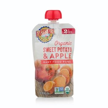 Earth's Best-Organic Sweet Potato Apple Puree 113g