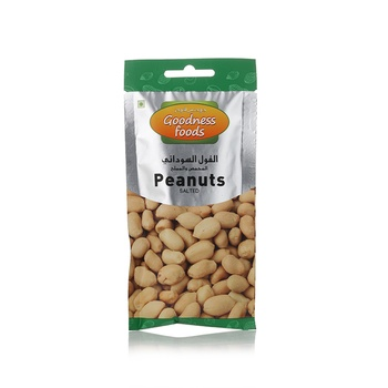 Goodness Foods Peanuts Roasted Packet 40g