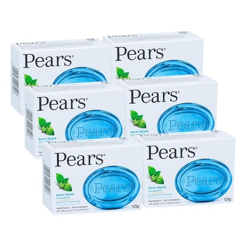 Pears Soap Germ Shield 6X125g