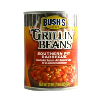 Bushs Grillin Beans Bbq 624g