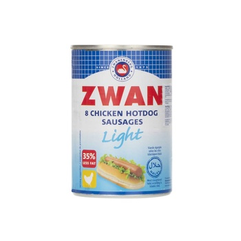 Zwan Light Chicken Hot Dog 8 Pcs 400g