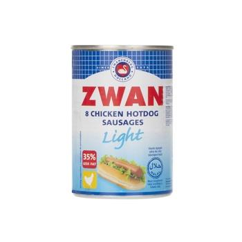 Zwan Light Chicken Hot Dog 8 Pcs 400g