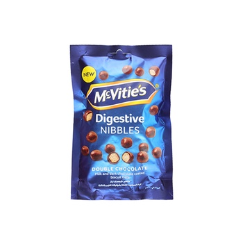 Mcvites Nibbles Double Chocolate 120g