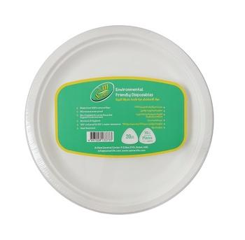 "Samar Biogradable 10 "" Plate"