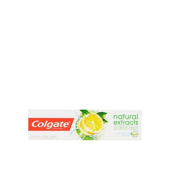 Colgate Natural Extract Lemon 75ml
