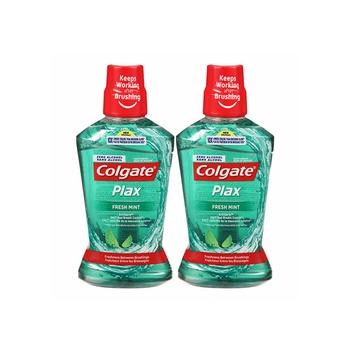 Colgate Plax Freshmint Green 500ml Pack Of 2