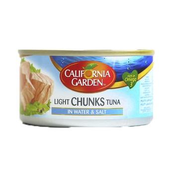California Garden Light Chunk Tuna In Water & Salt 185g