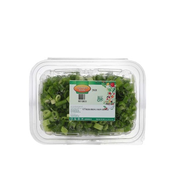 Goodness Foods Fresh Spring Onion Chopped 250g