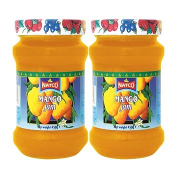 Natco Jam Asstd Twin Pack  450g