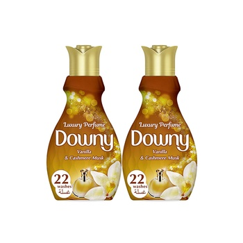 Downy Luxury Perfume Collection Concentrate Fabric Softener Feel Luxurious 880ml Pack Of 2