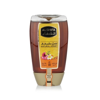 Al Shifa Natural Honey Squeezy 250g